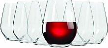 Maxwell & Williams 540ml Vino ohne Stiel rot