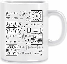Maxwells Die Gleichungen Kaffeebecher Becher