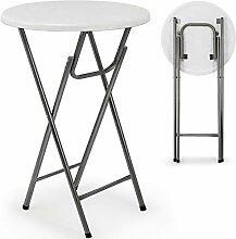 Maxx Stehtisch - Tisch Gartentisch klappbar