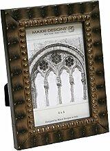 Maxxi Designs Arezzo Bilderrahmen, Antik-Schwarz