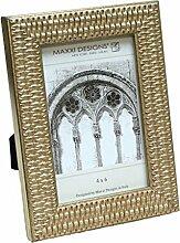 Maxxi Designs Arezzo Bilderrahmen, Antik-Silber