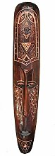 Maya Wandmaske 100cm Dekoration Holzmaske
