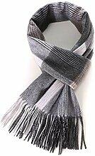 Mayanyan Männer Wolle Schal Mode Strick Lätzchen