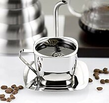 Mayanyan Rostfreier Stahl Kaffeetasse set