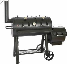 Mayer Barbecue - Smoker Grill Holz Holzkohle