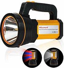 Extrem Helle 3000 Lumen Zoombar Taschenlampen Inklusive 1 * 18650 Batteries 5 Modis Einstellbar Elekin LED Taschenlampe USB Aufladbar Taktische Flashlight f/ür Outdoor Camping und Notf/älle