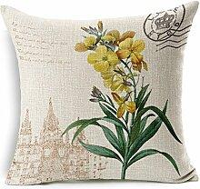 MAYUAN520 Zierkissen Maiyubo Großhandel 7 Farben Natur Blume Dekorative Kissenhüllen Für Sofa Auto Bettwäsche Kissenbezug Werk Direkt Verkauf Pc 331,45 Cm X 45 Cm, 4.
