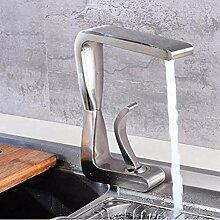 mazhant Antique Style Messing Küchenarmatur Swing