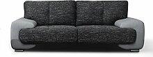 mb-moebel 2-Sitzer Design Sofa 2er Büro