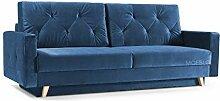 mb-moebel Modernes Sofa Schlafsofa Kippsofa mit