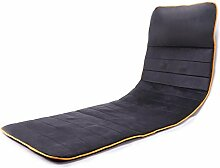 MBDKZC Massagematte Multifunktion ganzer Körper Elektrische Matratze Startseite Stuhlkissen Vibrationsmassage Zusammenklappbar Automatisches Timing Überhitzungsschutz grau