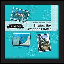 MBI 100% Baumwolle Schatten Box Rahmen 8x