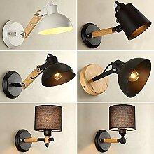 MBLYW Wandlampe Retro industrielle kreative
