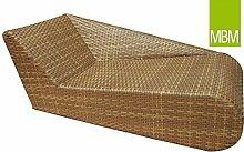 MBM 254351 Relax Lounge Liege links Aluminium