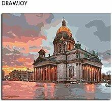 MBYWQ Digitale Malerei Landschaftsmalerei &