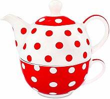 MC Trend Tea for one 3 teiliges Set Teekanne mit