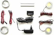 MCA Beleuchtung LED Power Spot 2er Set