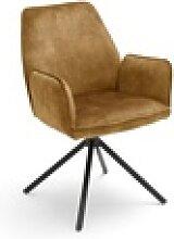 MCA furniture Armlehnenstuhl Ottawa in curry