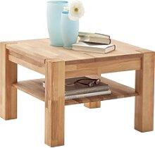 MCA furniture Couchtisch, Massivholztisch mit