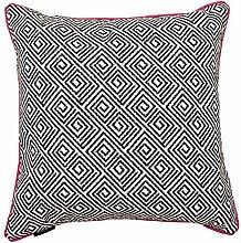 McAlister Textiles BW Aztec Cushions (40 x 40cm,
