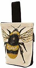 McAlister Textiles Novelty Kollektion | Bug's Life Türstopper Gelbe Bienenkönigin | gewebtes Tiermotiv Deko Türsack
