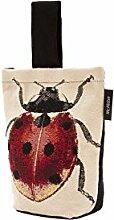 McAlister Textiles Novelty Kollektion | Bug's Life Türstopper Roter Marienkäfer | gewebtes Tiermotiv Deko Türsack