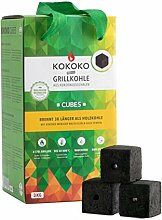 McBrikett KOKOKO CUBES Premium Grillkohle, 3 kg