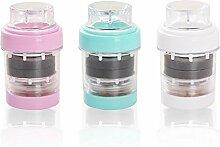 MCC Wasserhahn Wasserfilter Tap Wasserfilter für Küche Magnetisierte Wasserhahn Wasserhahn Wasserreiniger Filterpatrone 3 Farbe (zufällige Farbe) Einfache Montage Haushalt , photo color