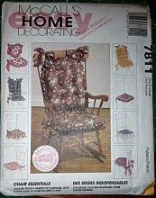 McCall 's 7811Schnittmuster Home Decor Stuhl Kissen