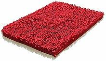 MCL Schlafzimmerteppich, 3 cm Rote Rechteckige