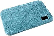 MCL Teppich, Blauer Dicker Plüsch-Teppich