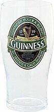 McLaughlin's Irish Shop Guinness Bierglas mit