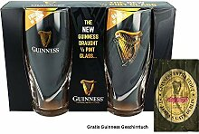 McLaughlin's Irish Shop Guinness Gläser Set 2