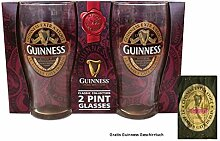 McLaughlin's Irish Shop Guinness Glas Set