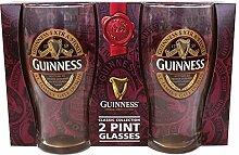 McLaughlin's Irish Shop Guinness Glass Set
