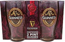 McLaughlin's Irish Shop Guinness Glass Set
