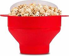 McoMce Popcorn-Popper, Silikon, für Mikrowelle,