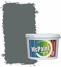 McPaint Bunte Wandfarbe Anthrazit - 2,5 Liter -