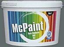 McPaint Bunte Wandfarbe Anthrazit-2.5 Litre