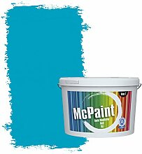 McPaint Bunte Wandfarbe Azurblau - 2,5 Liter -