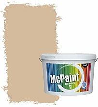 McPaint Bunte Wandfarbe Beige-10 Litre