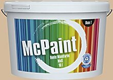 McPaint Bunte Wandfarbe Beige-5 Litre