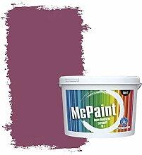 McPaint Bunte Wandfarbe extramatt für Innen Beere