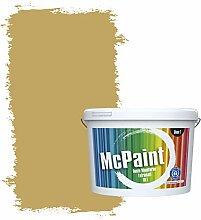McPaint Bunte Wandfarbe extramatt für Innen Ocker
