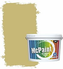 McPaint Bunte Wandfarbe extramatt für Innen Pesto