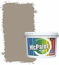 McPaint Bunte Wandfarbe extramatt für Innen Taupe