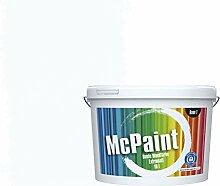 McPaint Bunte Wandfarbe extramatt für Innen Weiß