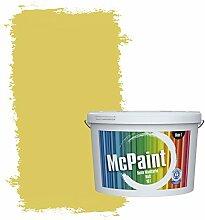 McPaint Bunte Wandfarbe Grasgrün - 5 Liter - Weitere Grüne Farbtöne Erhältlich - Weitere Größen Verfügbar