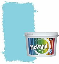 McPaint Bunte Wandfarbe Himmelblau - 10 Liter -