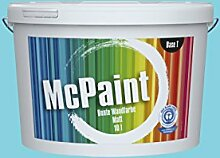 McPaint Bunte Wandfarbe Himmelblau-5 Litre